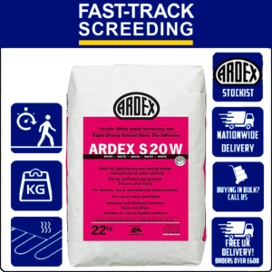 Ardex S20 Grey Flexible Natural Stone Adhesive, 22kg