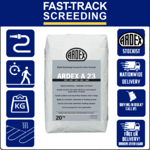 Ardex A23 Rapid Drying Screed, 20kg